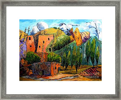 Hovenweep The Penthouse  Framed Print