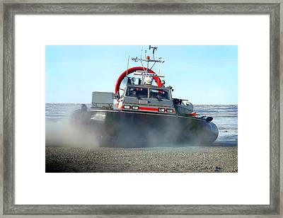 Hover Craft Framed Print by Anthony Jones