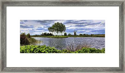 How Hill Framed Print by Martin  Fry