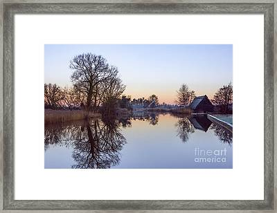 How Hill Mill Framed Print by Svetlana Sewell