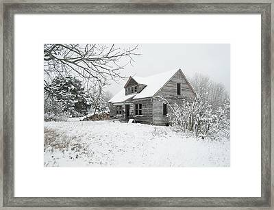How Long Has It Been? Framed Print