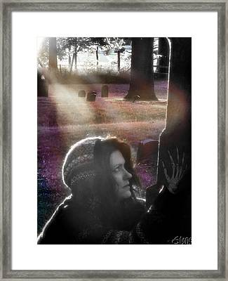 How Much More Of Me Am I To Give Framed Print by September  Stone