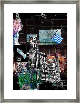 How Not To Make Art Part 4  Framed Print by Andy  Mercer