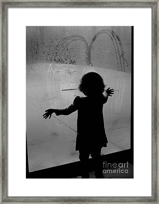 How Precious Is Love Framed Print by Diane M Dittus