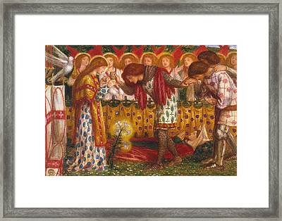 How Sir Galahad Framed Print