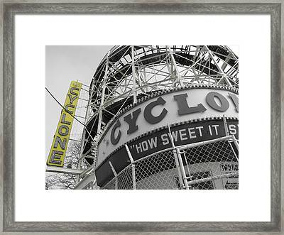 How Sweet It Is Framed Print by Peter Aiello