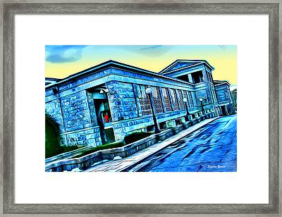 Howard County Courthouse Framed Print