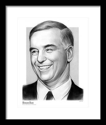 Howard Dean Framed Prints