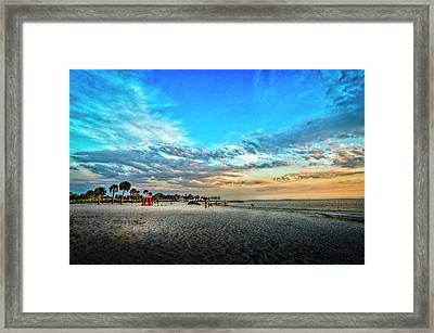 Howard Park Beach Framed Print