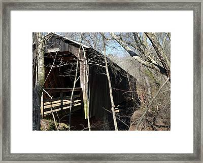 Howards Covered Bridge Framed Print