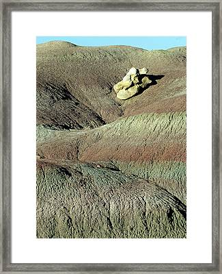 How'd That Get There? Framed Print
