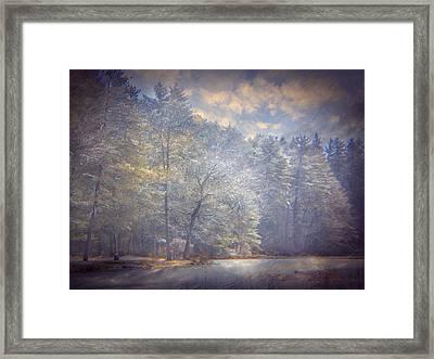 Howe State Park In Winter Framed Print