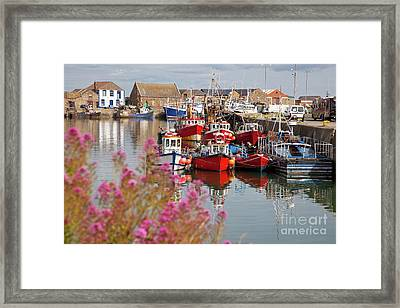 Howth Harbour Framed Print
