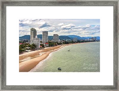 Hua Hin Cityscape Framed Print