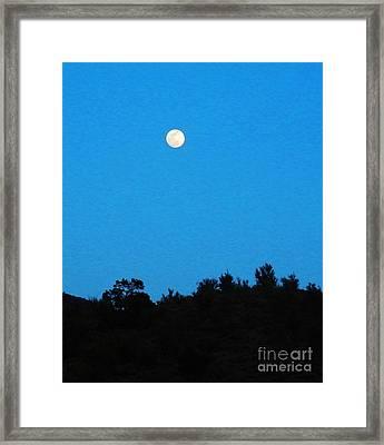 Hualapai Night Framed Print