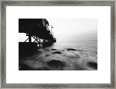 Huanchaco Pier Framed Print