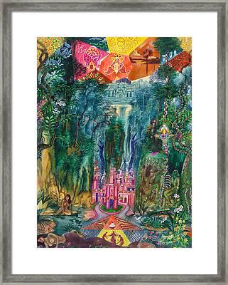 Huarmi Taquina  Framed Print