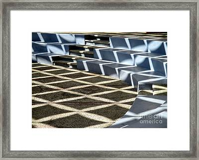 Huatulco Amphitheater 2 Framed Print by Randall Weidner