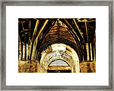 Hub-and-spoke Framed Print by JAMART Photography