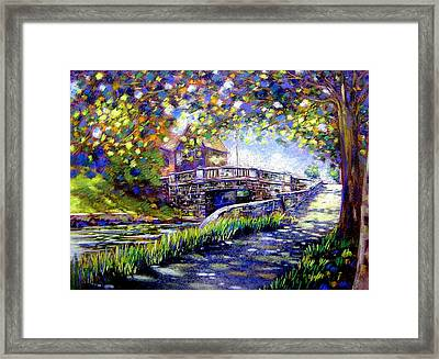 Huband Bridge Dublin City Framed Print by John  Nolan