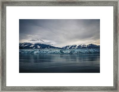 Hubbard Glacier Framed Print by Robin Williams