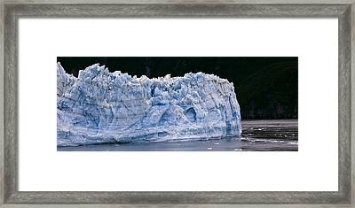 Hubbard Glaicer Framed Print by Gary Langley