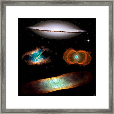 Hubble Greatest Hits Framed Print by Tony Rubino