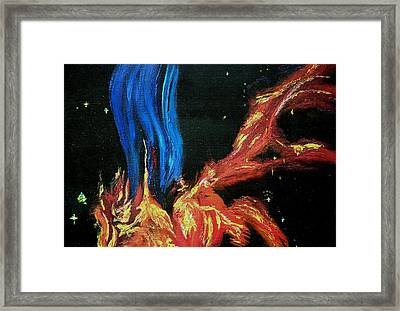 Hubble Space Vapors Framed Print by Gregory Allen Page