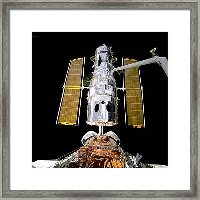 Hubble Telescope Redeployment Framed Print by Jennifer Rondinelli Reilly - Fine Art Photography