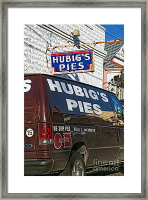 Hubig's Pies 2 New Orleans Framed Print
