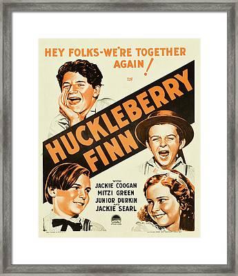 Huckleberry Finn 1931 Framed Print