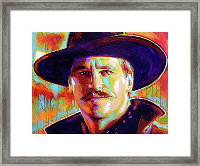 Huckleberry Framed Print