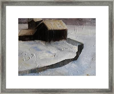 Huddell-up Framed Print