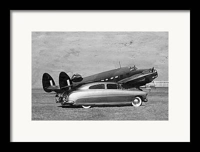 Hudson Bomber Framed Prints