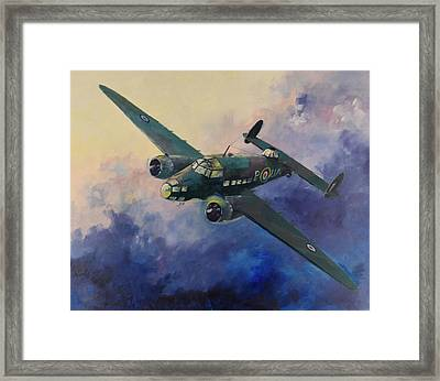 Hudson Bomber Framed Print by Geoff Amos