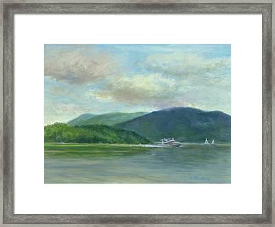 Hudson From Beacon Framed Print