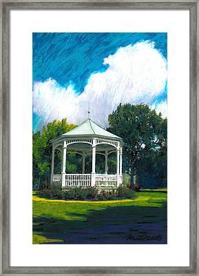Hudson Gazeo Framed Print