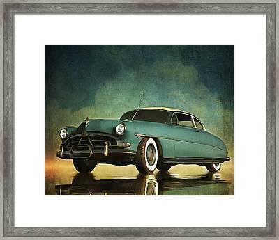 Hudson Hornet Oldtimer Framed Print