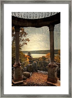 Hudson River Overlook Framed Print by Jessica Jenney