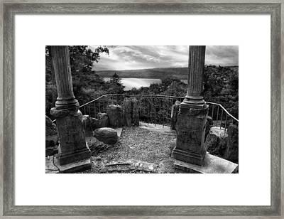 Hudson River View Framed Print