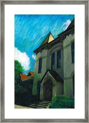 Hudson Town Hall Framed Print