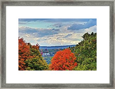 Hudson Valley Hyde Park Ny Framed Print