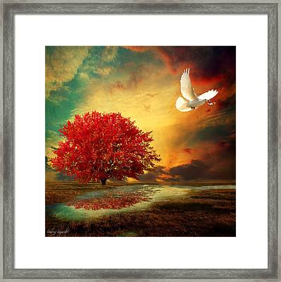 Hued Framed Print by Lourry Legarde