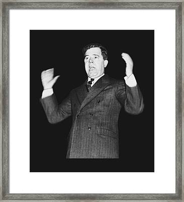 Huey P. Long  Framed Print by War Is Hell Store