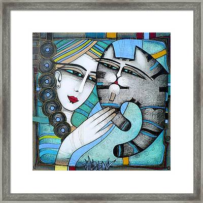 hug Framed Print by Albena Vatcheva