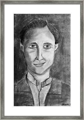 Hugh Herr Framed Print