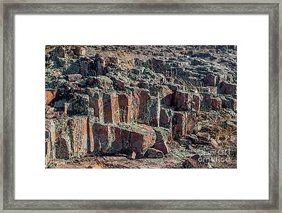 Hughes Mountain Framed Print