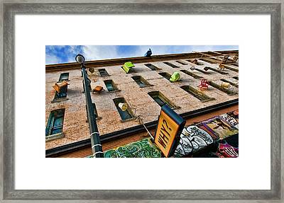 Framed Print featuring the photograph Hugo Hotel  by Steve Siri