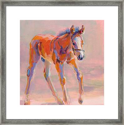Hugo Framed Print by Kimberly Santini