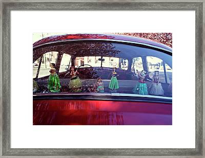 Hula Framed Print